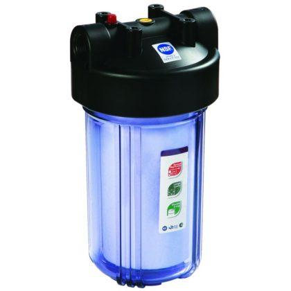 RAIFIL Big Blue 10″ для холодной воды с прозрачной колбой
